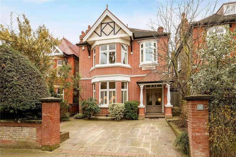 6 Bedrooms Detached House for sale in Hazlewell Road, Putney, London, SW15