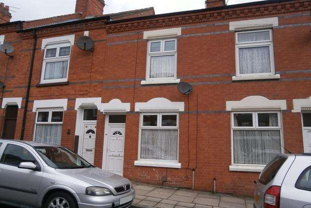 3 Bedrooms End Of Terrace House for sale in Dronfield Street, off East Park Road, Leicester, LE5