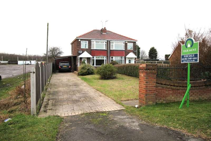 3 Bedrooms Semi Detached House for sale in Selby Road, Askern, Doncaster, DN6