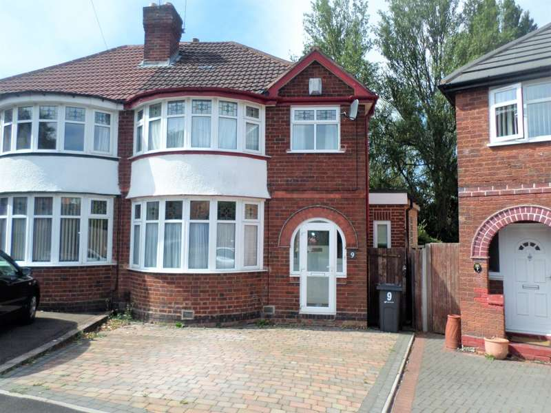 3 Bedrooms Semi Detached House for sale in Stonehaven Grove, Hall Green