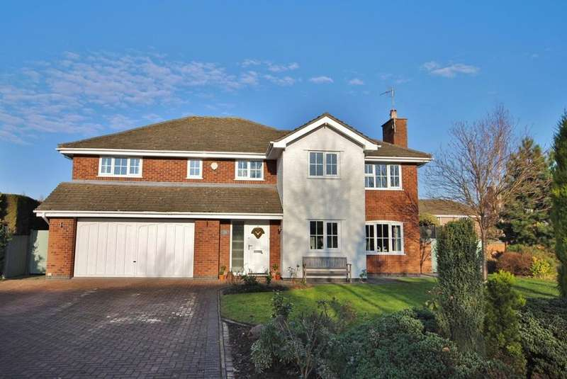 5 Bedrooms Detached House for sale in Prestwick Close, Tytherington