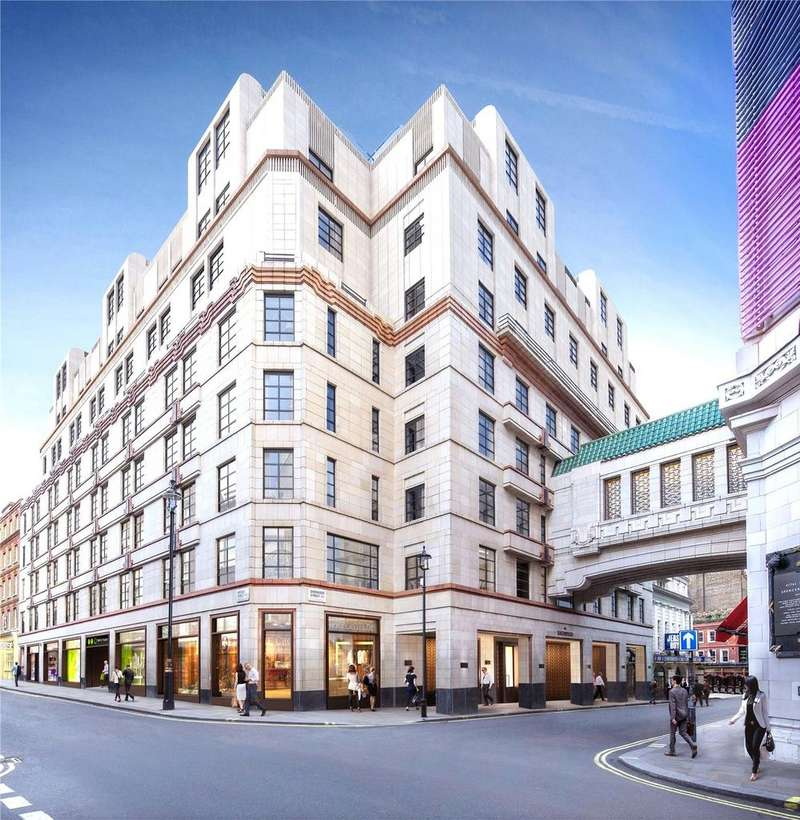 2 Bedrooms Penthouse Flat for sale in The Sherwood, 12 Sherwood Street, Soho, London, W1F