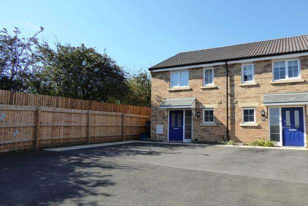 2 Bedrooms Semi Detached House for sale in Damselfly Road, Dragonfly Meadows, Northampton, NN4