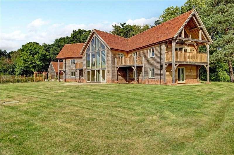 5 Bedrooms Detached House for sale in Snelsmore Common, Newbury, Berkshire, RG14