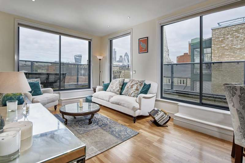 2 Bedrooms Penthouse Flat for sale in Liberty House, Ensign Street, London, E1