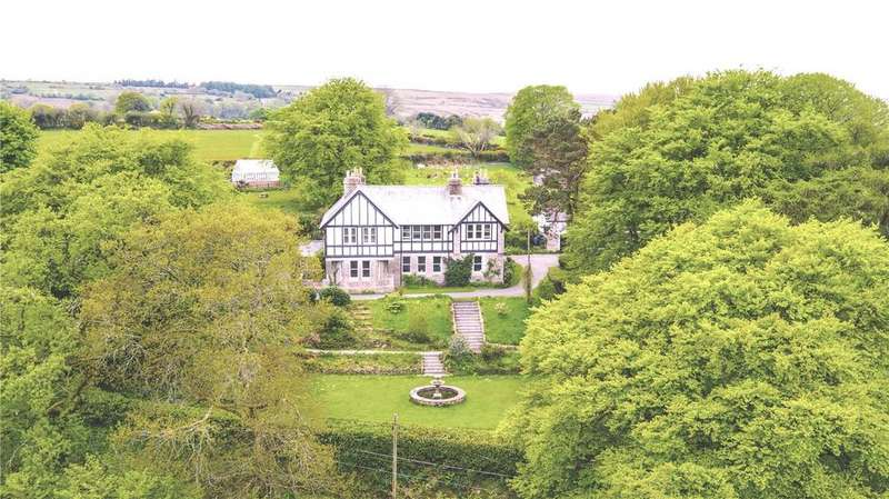 6 Bedrooms Detached House for sale in Gidleigh, Nr Chagford, Devon, TQ13
