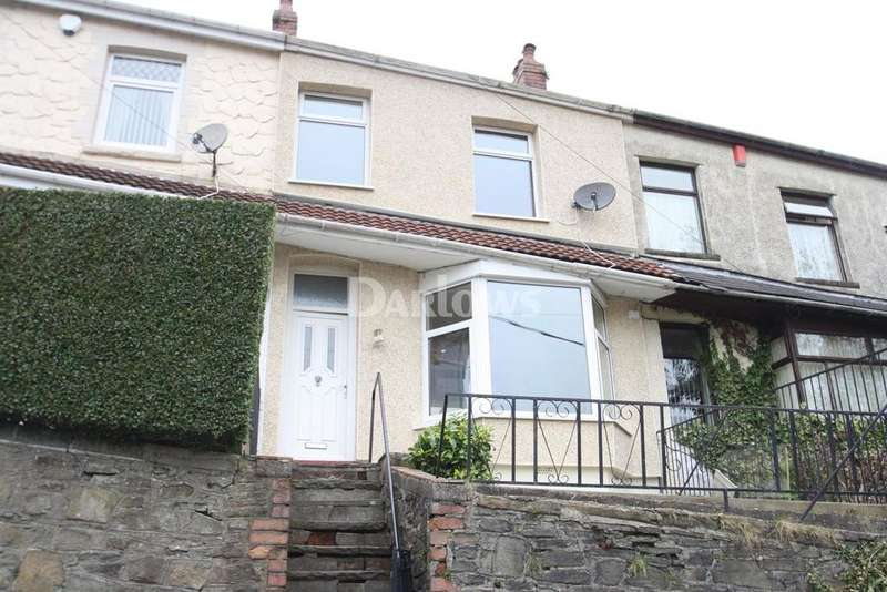3 Bedrooms Terraced House for sale in Idloes Place, Tylorstown