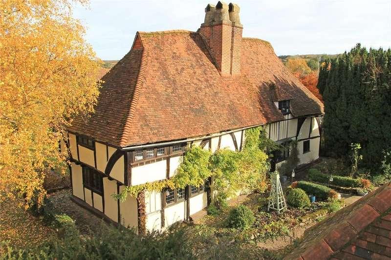 4 Bedrooms Detached House for sale in Long Mill Lane, Plaxtol, Sevenoaks, Kent, TN15