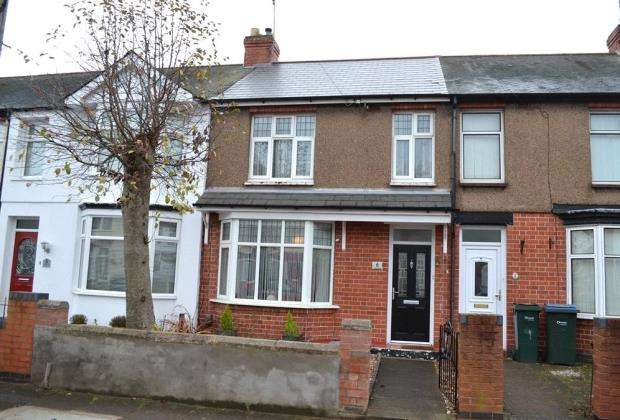 3 Bedrooms Terraced House for sale in Yule Road, Wyken, Coventry, West Midlands