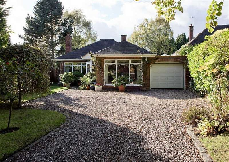 2 Bedrooms Detached Bungalow for sale in The Trees, 2a, Tinacre Hill, Wightwick, Wolverhampton, West Midlands, WV6