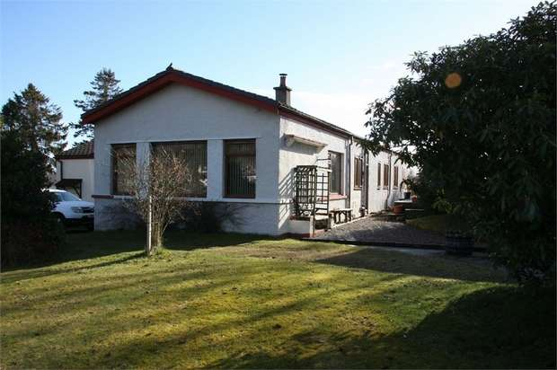 4 Bedrooms Detached Bungalow for sale in Drummond Road, Evanton, Dingwall, Highland