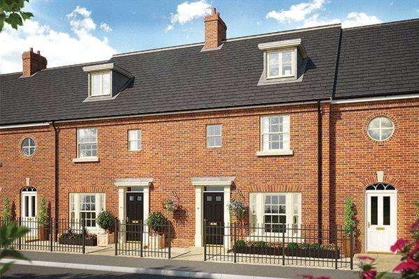 4 Bedrooms Terraced House for sale in Plot 17 Grace Park, Lakenham, Norwich, NR1