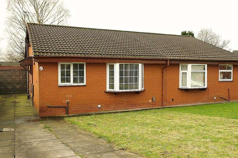 2 Bedrooms Semi Detached Bungalow for sale in 2 Abingdon Close, Chadderton, Oldham