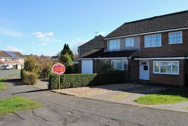 3 Bedrooms Terraced House for sale in Cottingham Drive, Moulton, Northampton NN3 7LG