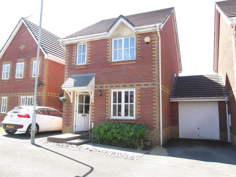 3 Bedrooms Detached House for sale in Ffordd Ger Y Llyn, Tircoed Forest Village, Swansea