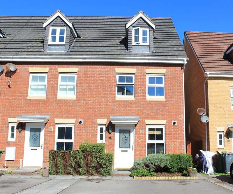 3 Bedrooms Town House for sale in Armoury Drive, Heath, Cardiff