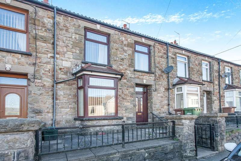 3 Bedrooms Terraced House for sale in Southend Terrace, Pontlottyn, Bargoed