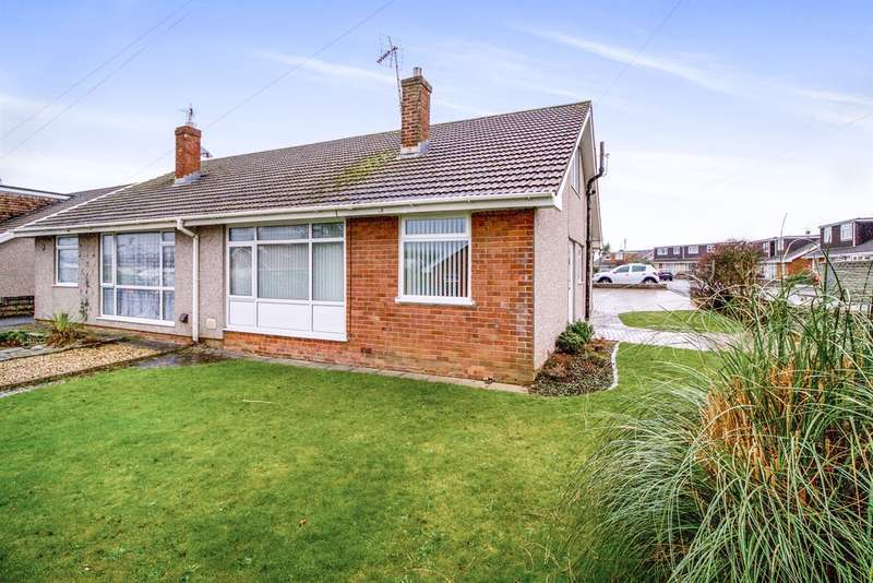 3 Bedrooms Semi Detached Bungalow for sale in Bredenbury Gardens, Porthcawl