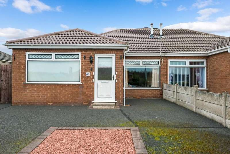 2 Bedrooms Semi Detached Bungalow for sale in Taylor Road, Haydock, St Helens