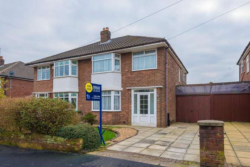 3 Bedrooms Semi Detached House for sale in Fairholme Avenue, Eccleston Park, Prescot