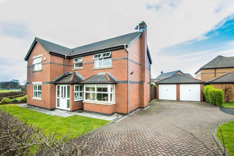 4 Bedrooms Detached House for sale in Cirrus Drive, Aughton