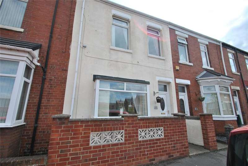 3 Bedrooms Terraced House for sale in Alfred Street East, Seaham, Co. Durham, SR7