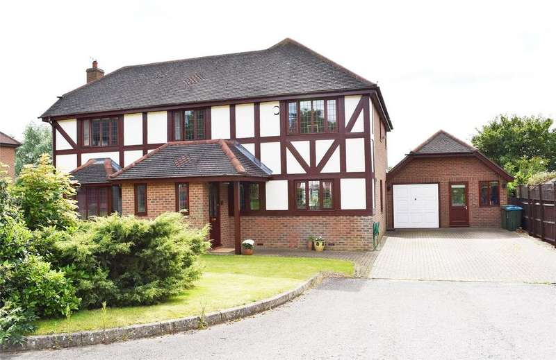 4 Bedrooms Detached House for sale in Courtneidge Close, Stewkley