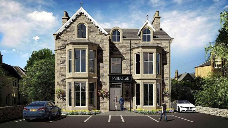 1 Bedroom Flat for sale in Henderson Street, Bridge of Allan, Stirling, FK9 4HF