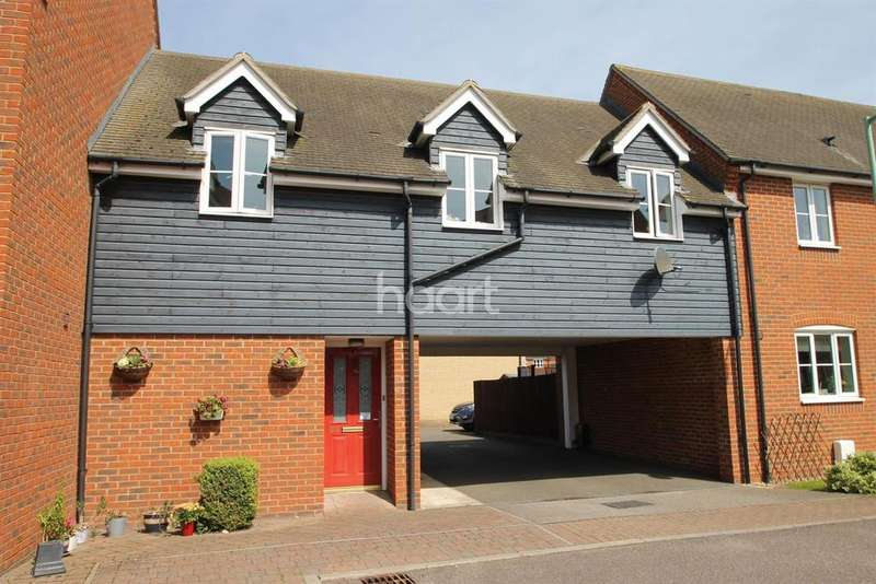 2 Bedrooms Maisonette Flat for sale in Turnstone Drive, Bury St Edmunds