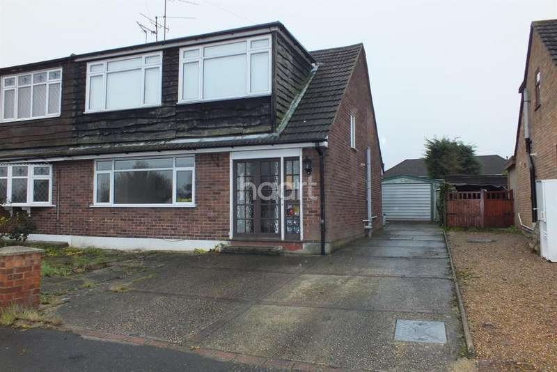 4 Bedrooms Semi Detached House for sale in Larchwood Close, Leigh On Sea