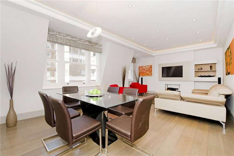 3 Bedrooms Apartment Flat for sale in Cumberland Mansions, Brown Street, London, W1H
