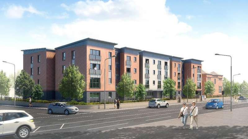 2 Bedrooms Retirement Property for sale in Jameson Gate , High Street, Portobello, Edinburgh , EH15 1DW