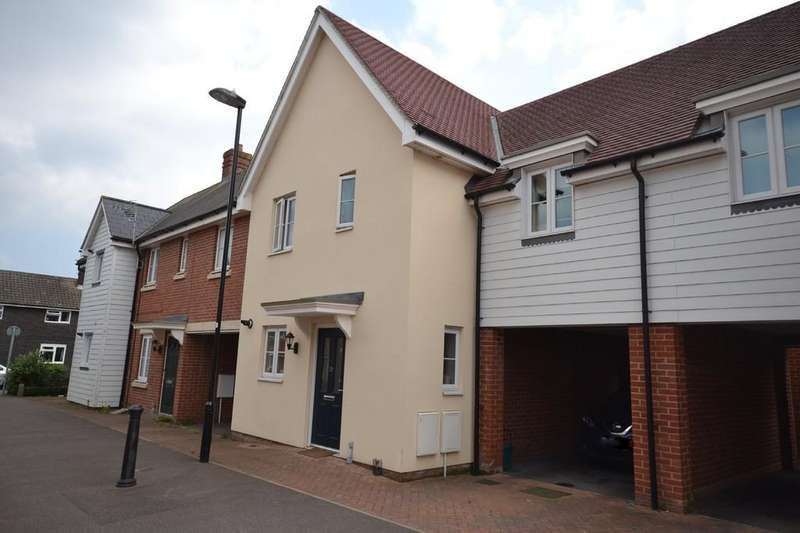 3 Bedrooms Terraced House for sale in Corunna Drive, Colchester