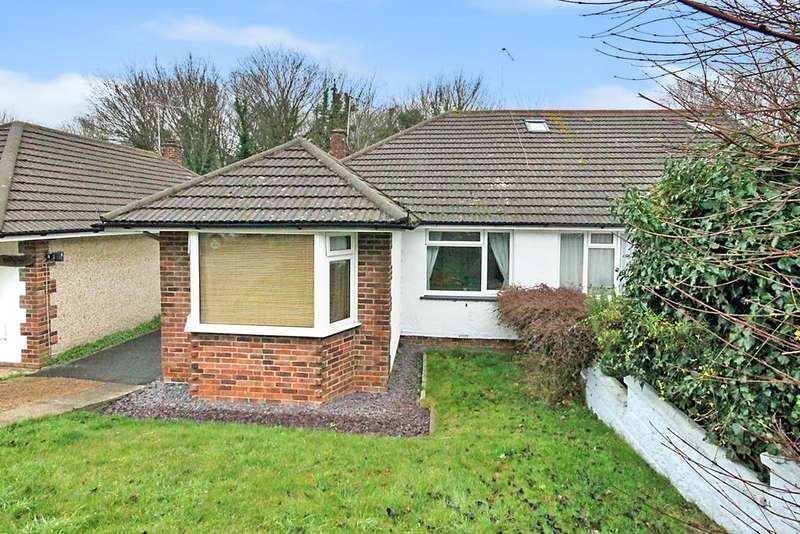 2 Bedrooms Semi Detached Bungalow for sale in Dean Gardens, Portslade, BN41 2FX
