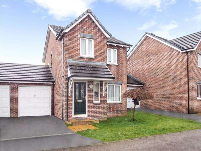 3 Bedrooms Link Detached House for sale in Foxglove Close, Launceston, Cornwall