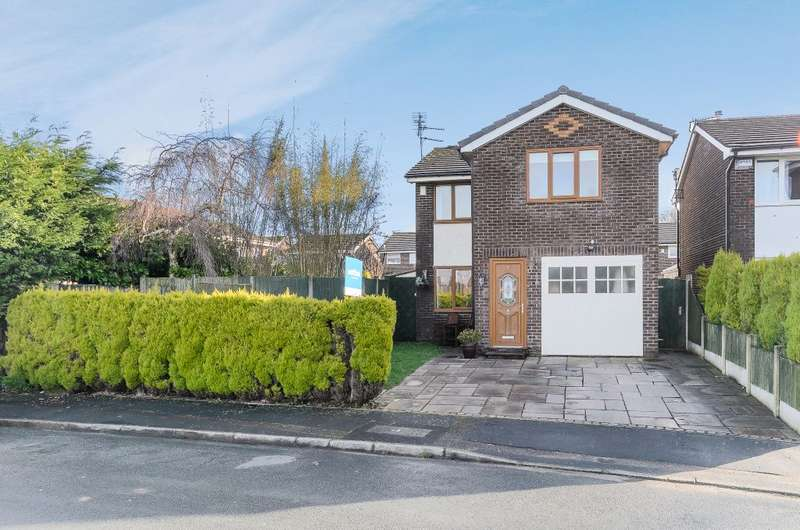 3 Bedrooms Detached House for sale in Langport Close,Preston, PR2