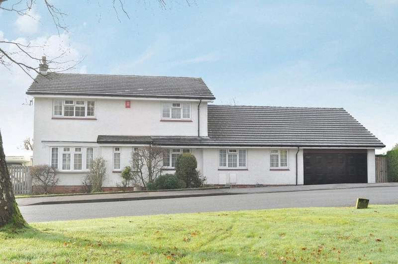 5 Bedrooms Detached House for sale in Finlay Rise, Milngavie, East Dunbartonshire , G62 6EQ