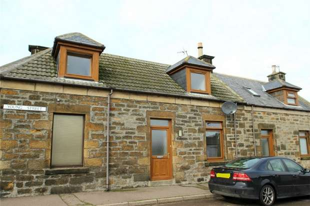 2 Bedrooms Semi Detached House for sale in Young Street, Burghead, Moray
