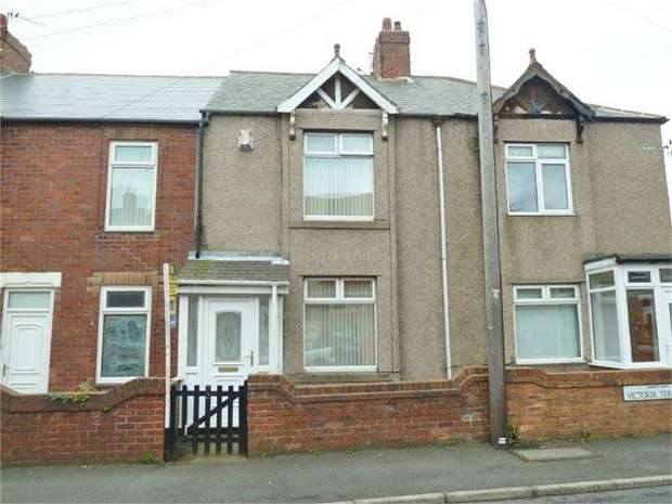 2 Bedrooms Terraced House for sale in Victoria Terrace, Bedlington, Northumberland