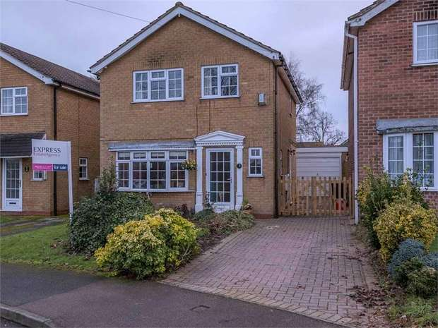 3 Bedrooms Detached House for sale in Pear Tree Close, Castle Donington, Derby, Leicestershire