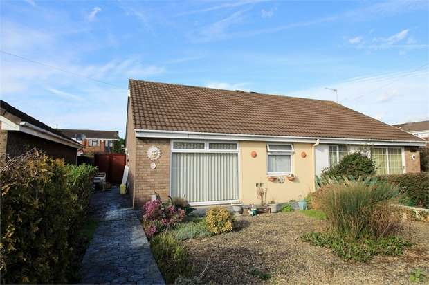 2 Bedrooms Semi Detached Bungalow for sale in Westmoor Close, NEWPORT