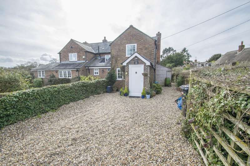 2 Bedrooms Semi Detached House for sale in Mud Puddle Cottage, Aldworth, Reading, RG8