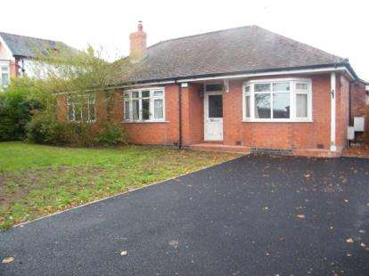 4 Bedrooms Bungalow for sale in Chester Road, Winsford, Cheshire