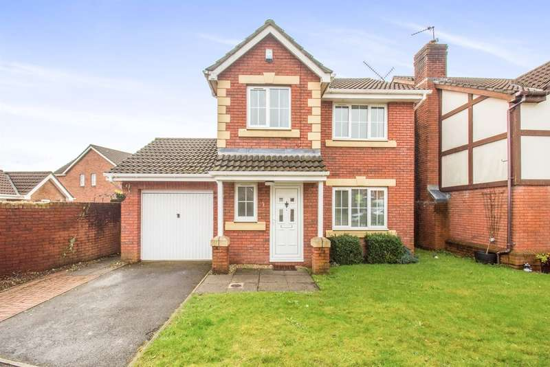 3 Bedrooms Detached House for sale in Liddell Close, Pontprennau, Cardiff