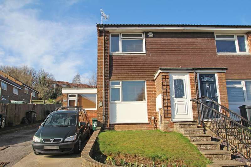 3 Bedrooms End Of Terrace House for sale in Teg Close, Portslade, East Sussex, BN41 2GZ