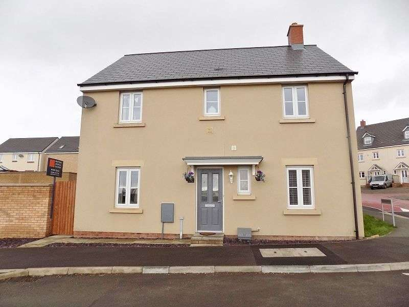 4 Bedrooms Detached House for sale in Ffordd Y Draen , Coity, Bridgend. CF35 6BF
