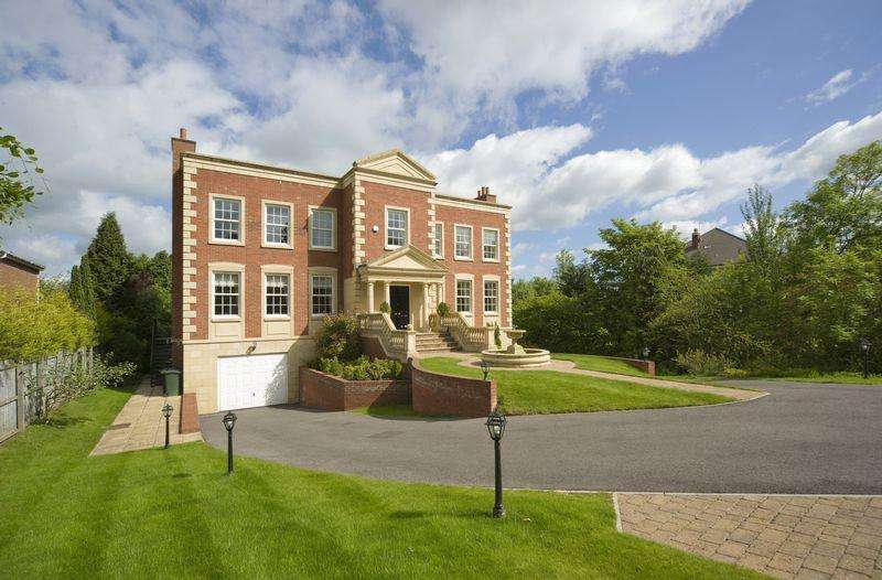 6 Bedrooms Detached House for sale in Runnymede Road, Darras Hall, Ponteland
