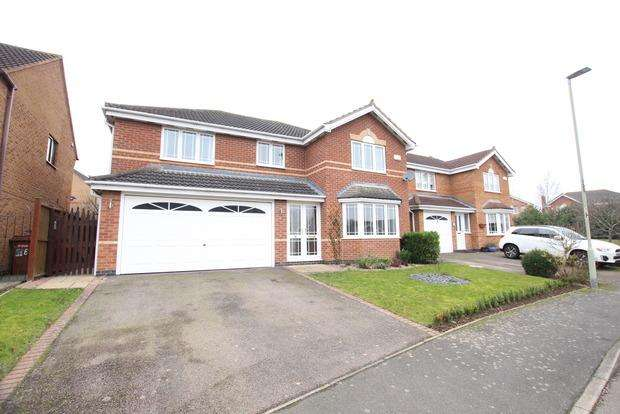 4 Bedrooms Detached House for sale in Camomile Road, Melton Mowbray, LE13