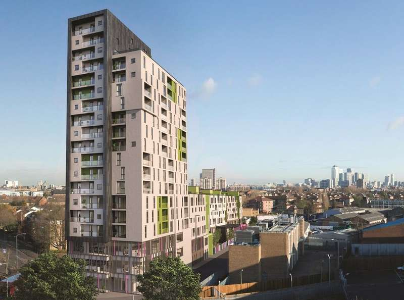 2 Bedrooms Flat for sale in Bermondsey Works, London, SE16