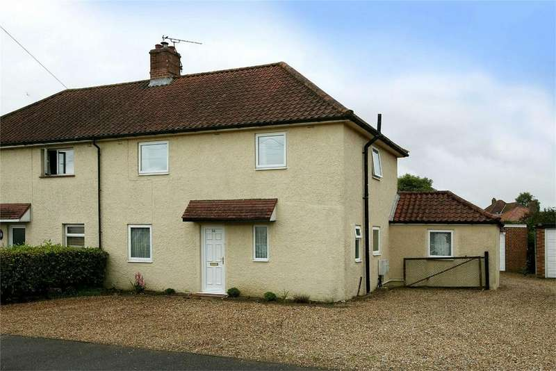 3 Bedrooms Semi Detached House for sale in Shipdham Road, Toftwood, Norfolk